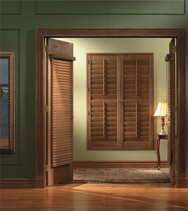 Traditions Shutters   From Made In The Shade Blinds
