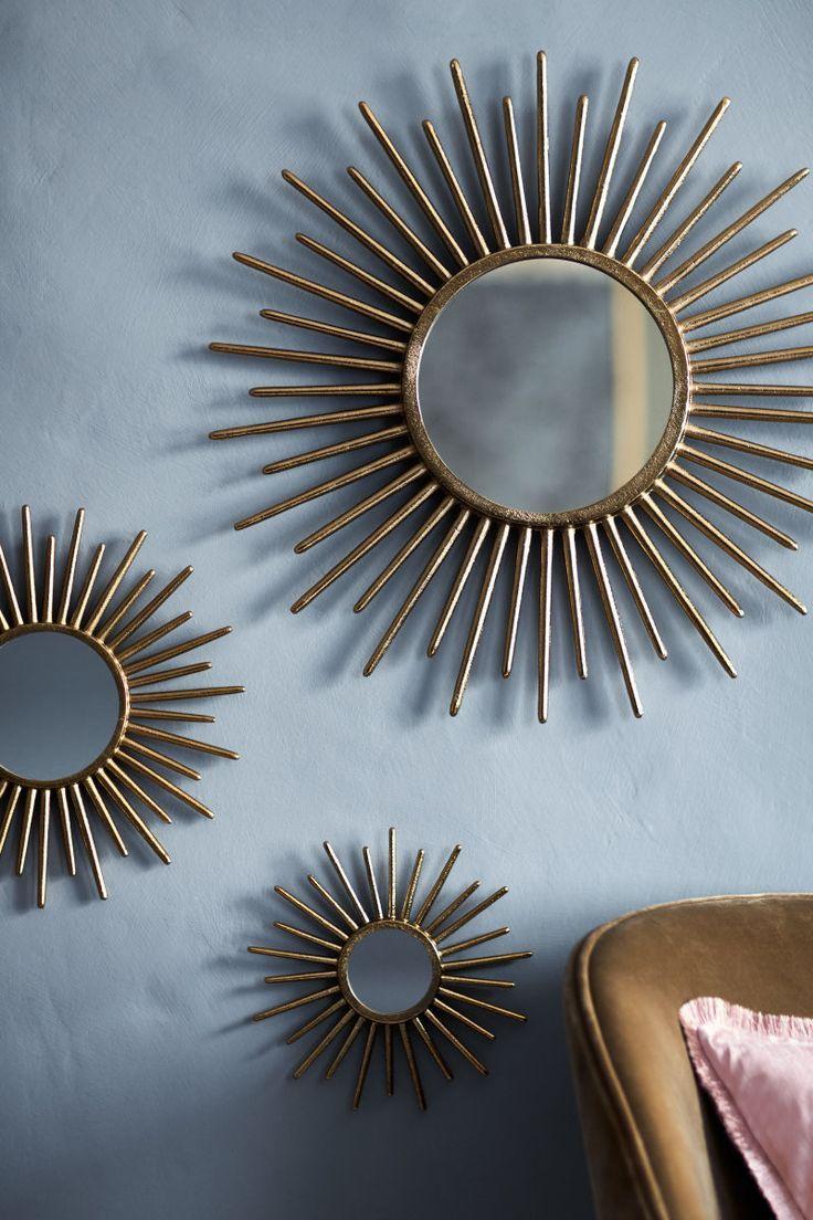Runder Spiegel Goldfarben H M Home H M De Runde Spiegel Spiegel Design Bilderrahmen Gold