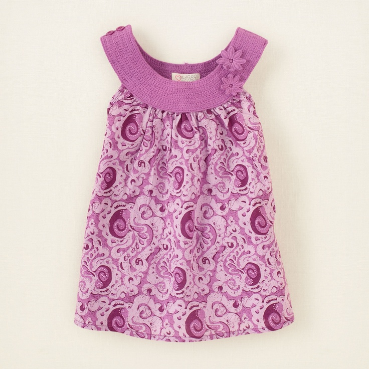 I would love to make this (dress from Children's Place)