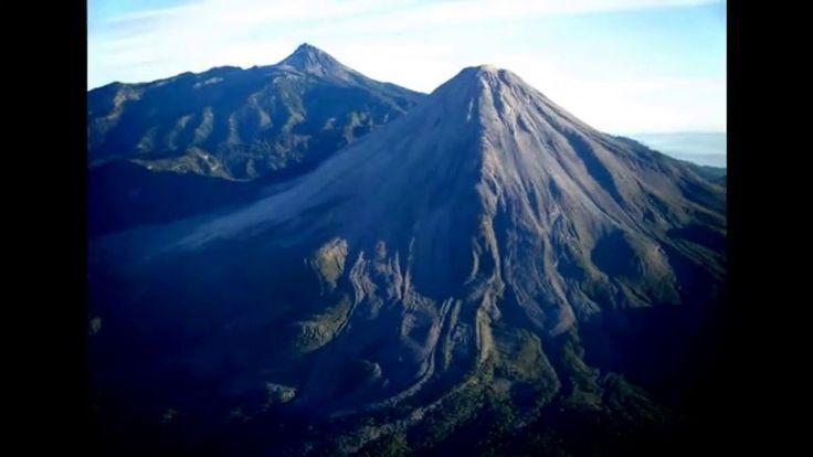 La Leyenda de Popocatépetl e Iztaccíhuatl.