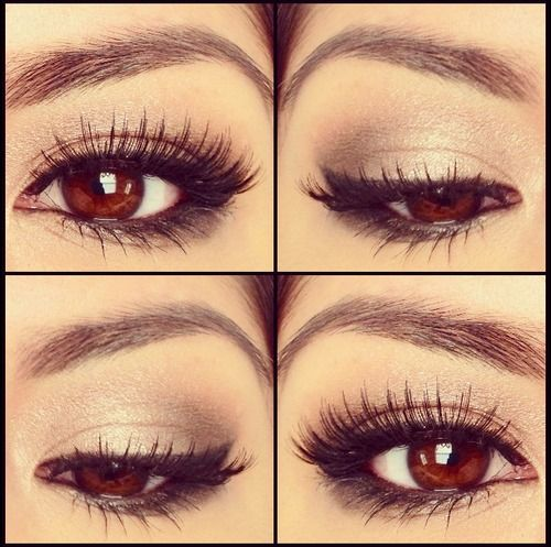 Simple soft make up