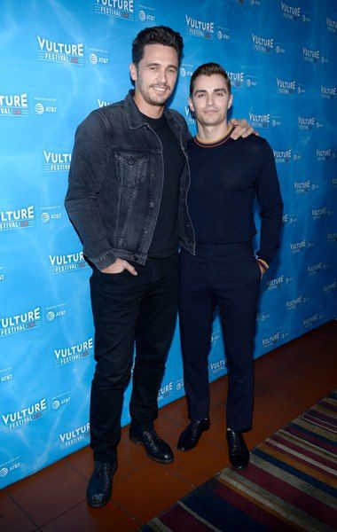 James Franco and Dave Franco visited the Vulture Festival in Los Angeles