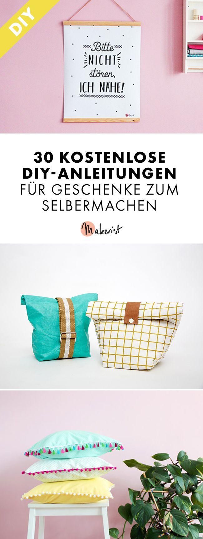 30 kostenlose diy anleitungen für geschenke zum selbermachen pin (5)