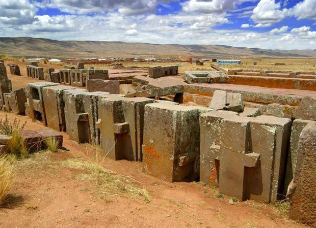 Puma Punku, Bolivia-this place is a mystery to the entire world.