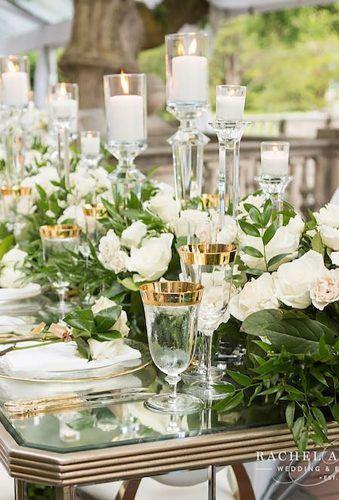 33 amazing wedding centerpieces with flowers white centerpieces rh pinterest com
