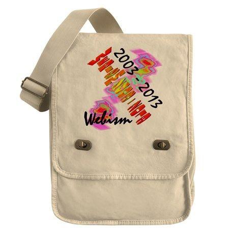 Webism Celebration Field Bag on CafePress.com