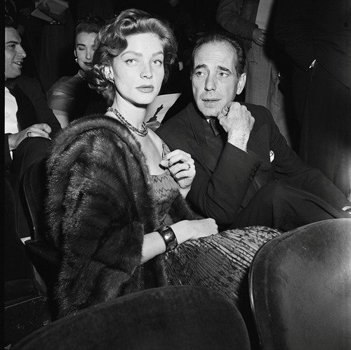 Bogie. Bacall.  Any questions?: Christian Dior, Lauren Bacall, Humphrey Bogart, Bogi Stare, Photo, Bacall Dior, Oscars Dresses, Dior Oscars, Humphreybogart