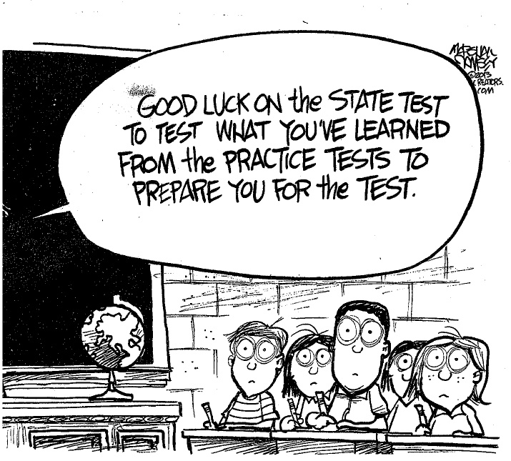 the flaws of the system of standardized tests Standardized testing in indonesiarunning head: standardized testing in indonesia standardized testing in indonesian secondary educatio.