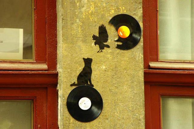 4D.Art: Vinyl Records Art To Celebrate Record Stores Day
