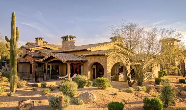 17 best images about home styles we love in carefree for Arizona luxury homes