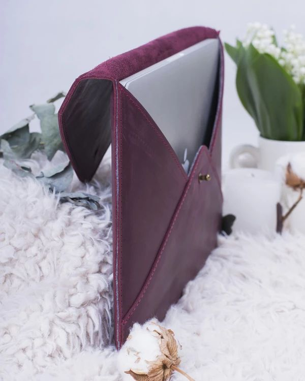 Practical Leather Sleeve For MacBook