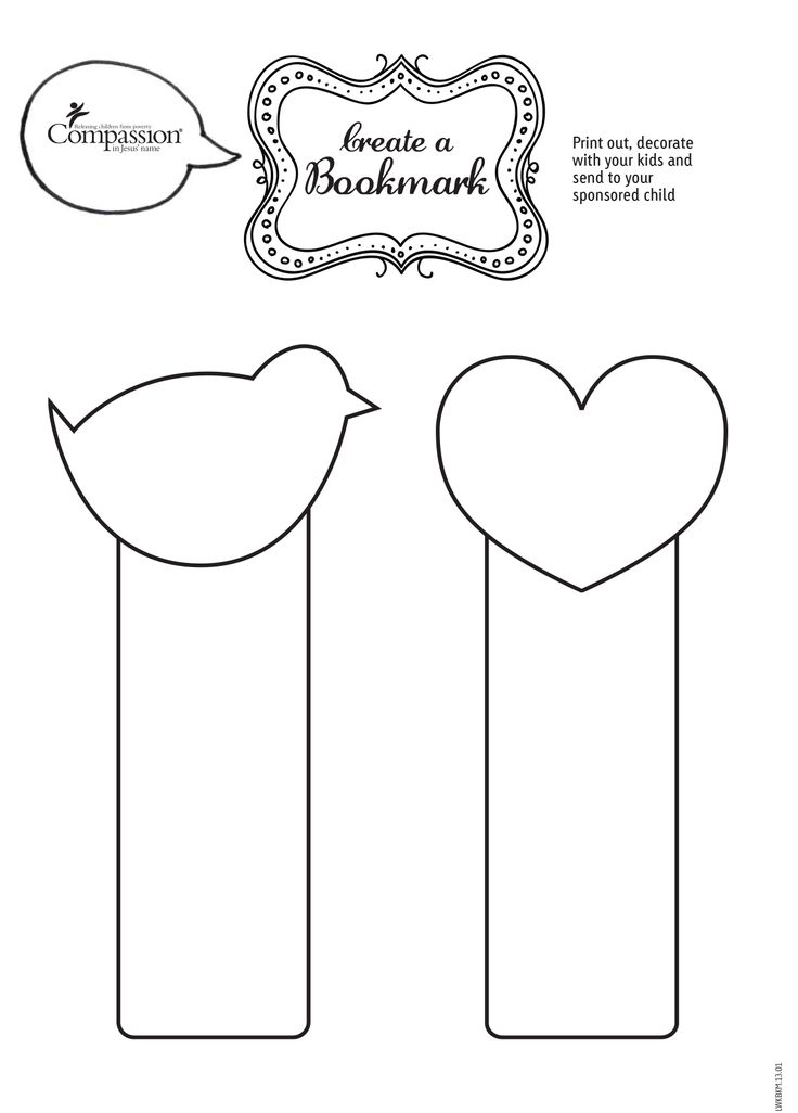 Here are some printable bookmarks you can colour in and send to your sponsored child!  (please remember to write your sponsored child's reference number and your Compassion reference number on the back). Thanks @Compassion International International UK for a great printable!