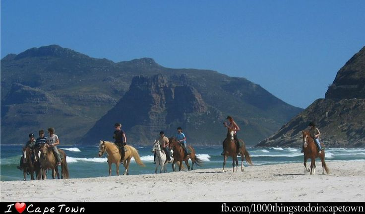 #9 #1000thingstodo #capetown Take a ride along noordhoek beach at Imhoff Equestrian Centre   Along 8km of the picturesque Noordhoek Beach & horses to cater for all levels of experience.  I <3 Cape Town