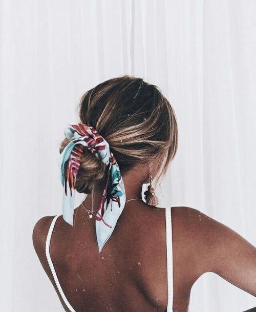 hair scarf #beausty #style
