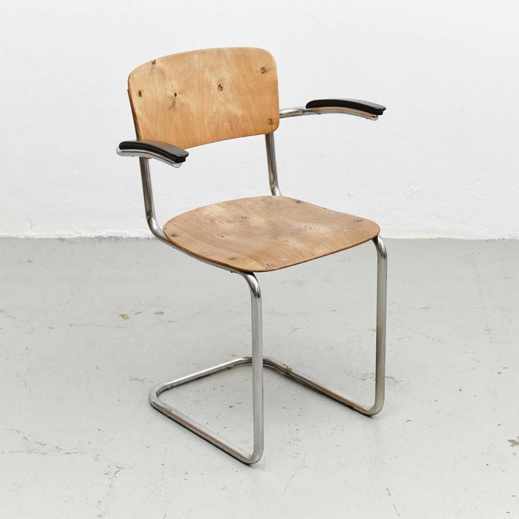Bauhaus Chair, circa 1930 | From a unique collection of antique and modern chairs at https://www.1stdibs.com/furniture/seating/chairs/