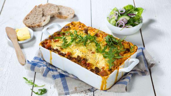 Oppskrift på Lasagne Arrabbiata