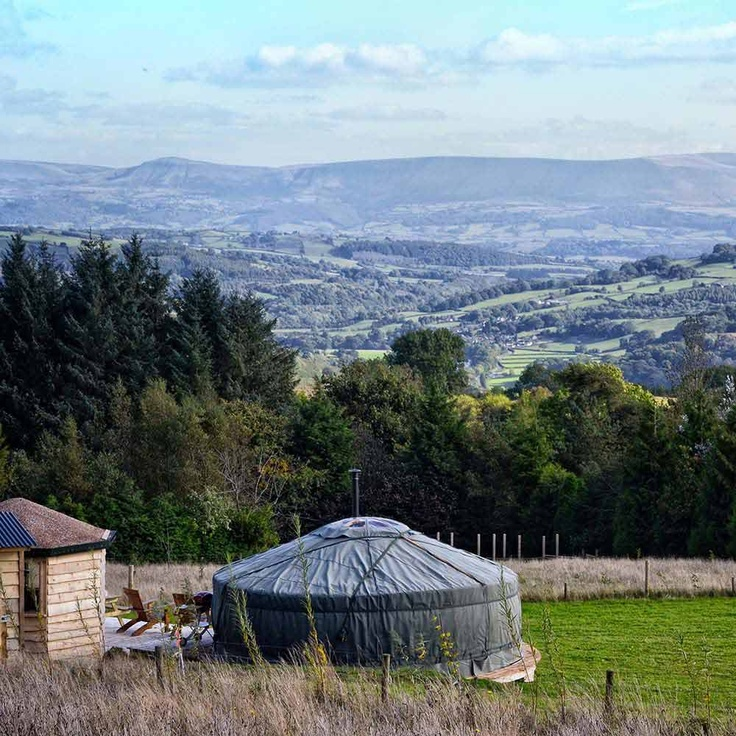 Kite Hill Yurts - Luxury Glamping in Wales