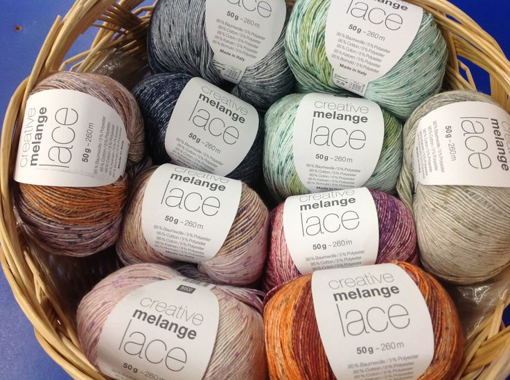 Creative Melange Lace by Rico Designs is new in-store and online for Spring 2017!