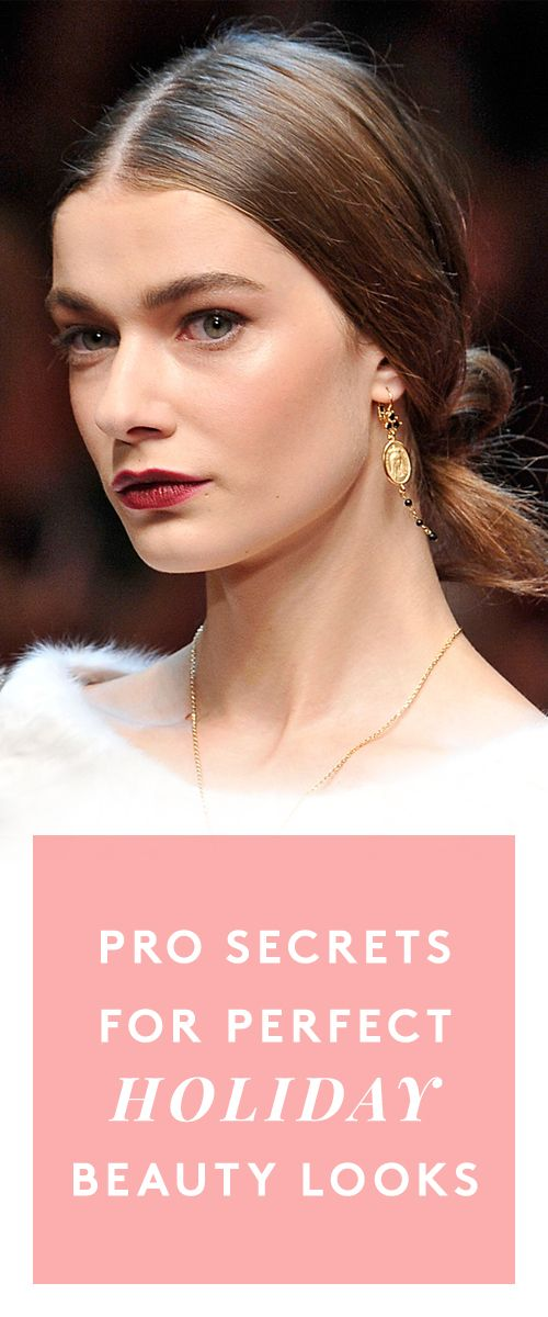 Pro holiday makeup secrets you haven't heard before