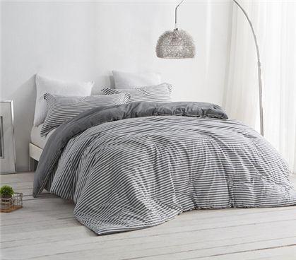 Carbon Stone Twin XL Comforter Set Dorm Bedding Must Have Dorm Items