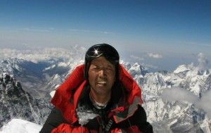 """Apa Sherpa 22 time Mt. Everest Summits!  """"The Tiger of the Himalayas"""""""