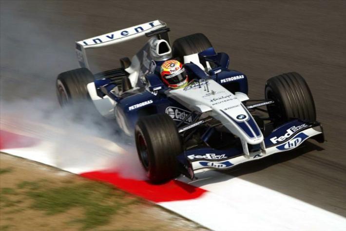 Antonio Pizzonia, Monza 2004, Williams FW26