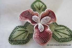 iğne oyası çiçek yapımı ile ilgili görsel sonucu