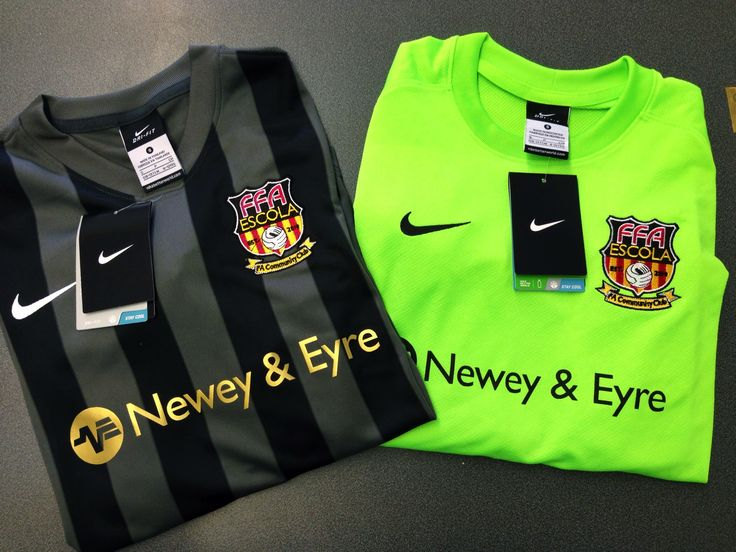 This pin features the nike striped division jersey in an