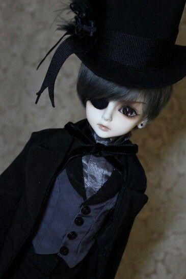 Beautiful Ciel phantomhive doll <3