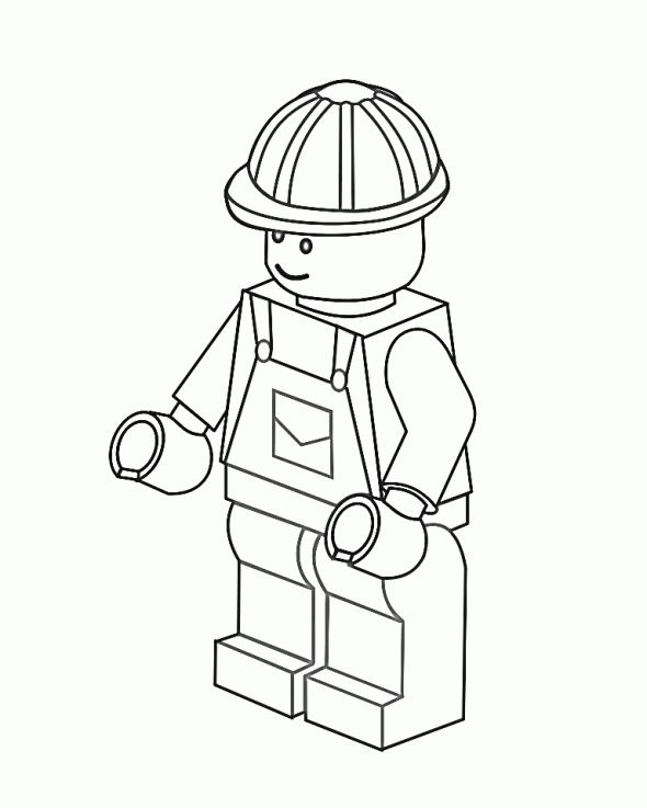 Lego Coloring Pages (Free)