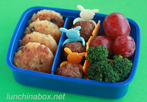 easy bento box for a kindy kid