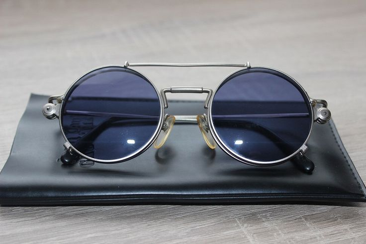 Jean Paul Gaultier 56-9173 Sunglasses Sonnenbrille Eyeglasses Frame Rahmen Glasses Brille Очки Солнцезащитные очки by VintageStyleFashion on Etsy https://www.etsy.com/listing/214250255/jean-paul-gaultier-56-9173-sunglasses
