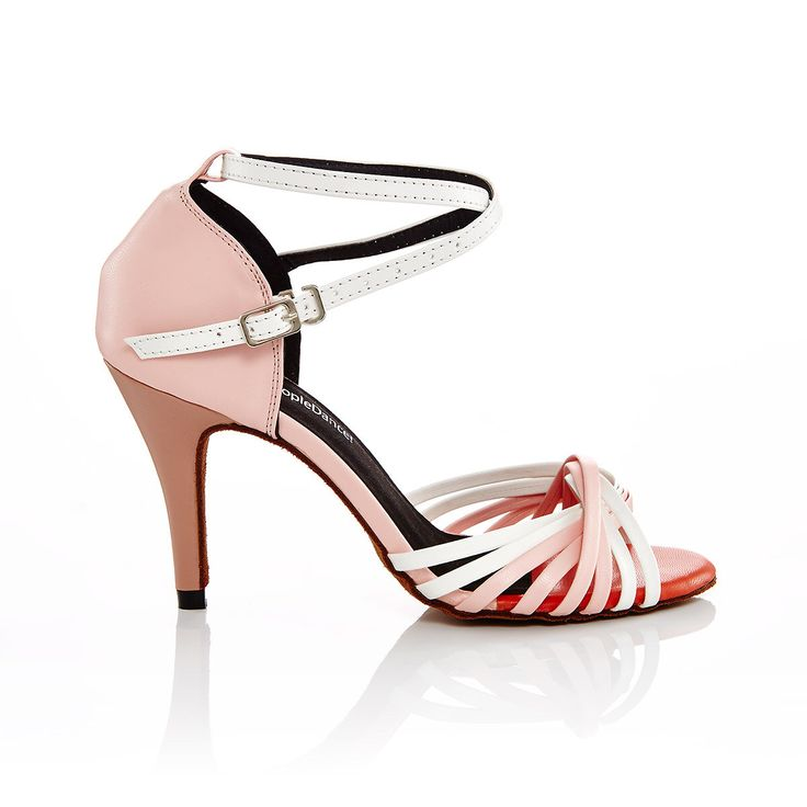 A personal favourite from my Etsy shop https://www.etsy.com/au/listing/500533674/pink-and-white-leather-latin-dance-shoes