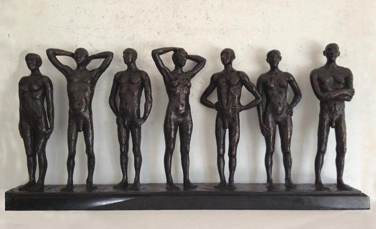 'The Spaces Between' Bronze Sculpture by Grace Da Costa. www.gracedacosta.co.za