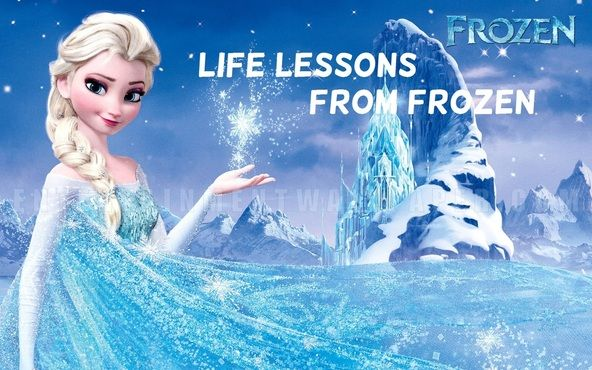 """Life Lessons From Disney's Frozen... not sure that I agree """"niceness is a strategy,"""" but the others are good!"""