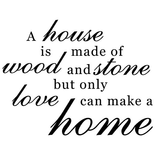 Family Home Love Quote Vinyl Wall Decal Sticker Art Words Home Decor | eBay