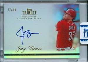 Jay Bruce 2011 Topps Tribute Auto /99