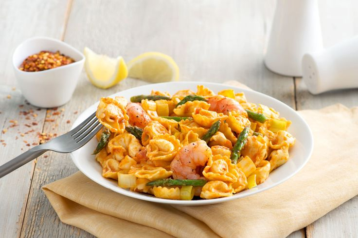 Welcome April with this delightful combination of shrimp and asparagus tonight!