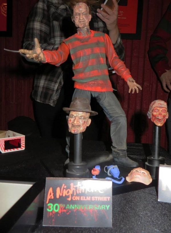 NECA Reveals 30th Anniversary Freddy Krueger Figure | Stitched Together Pictures