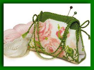 Схемы вышивки крестом для игольницы сумочка