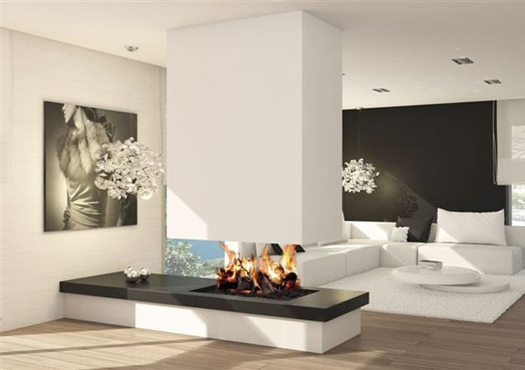 17 mejores ideas sobre estufas modernas en pinterest - Decoracion de chimeneas modernas ...