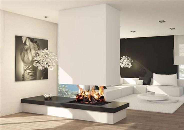 17 mejores ideas sobre estufas modernas en pinterest - Decoracion de chimeneas ...