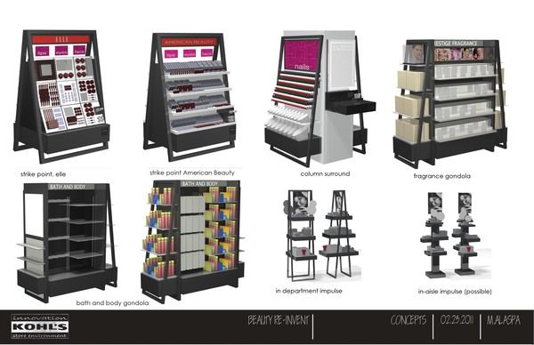 """Kohl's Department Stores - Beauty """"Re-Invent"""" by Marc Alaspa, via Behance"""