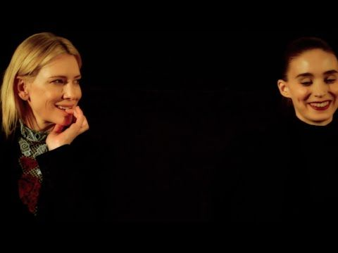 Q&A - Cate Blanchett & Rooney Mara - Anyone Ever Controls Their Chemistry - YouTube