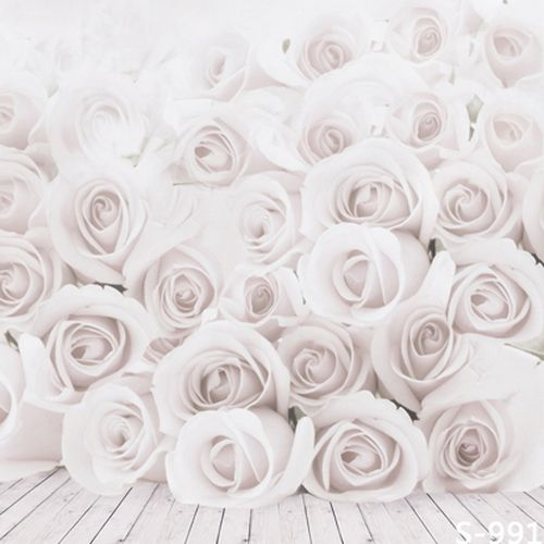 Flowers Backgrounds Photographic Backdrops 5Feet-6.5Feet White Thin Vinyl Backdrops For Photography Backdrops.  if want it,please click here   http://www.amazon.com/dp/B01E3QROAA