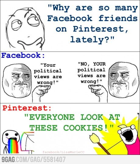 Yep.  Pinterest is much better
