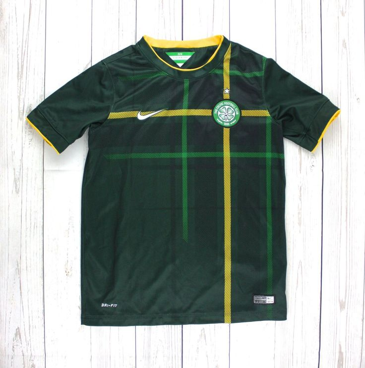 Celtic t-shirt, Glasgow Celtic, soccer t-shirt, Nike t-shirt, sports clothing for boys