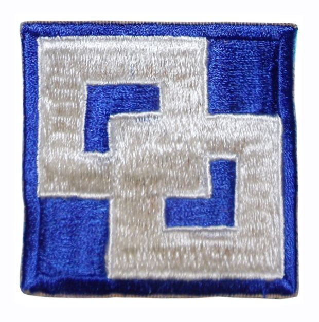 2 Service Command Patch. US Army