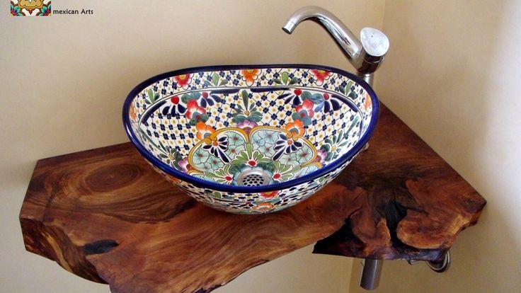 19 besten originelle badezimmer mit waschbecken aus mexiko bilder auf pinterest mexiko. Black Bedroom Furniture Sets. Home Design Ideas