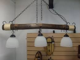 resultado de imagen para lamparas para cocina rustica